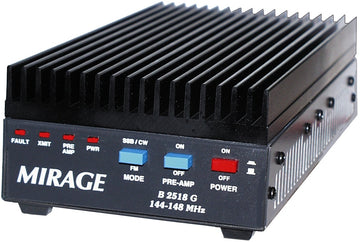 B-2518-G, VHF AMP,25W IN-160W OUT,144-148 MHz