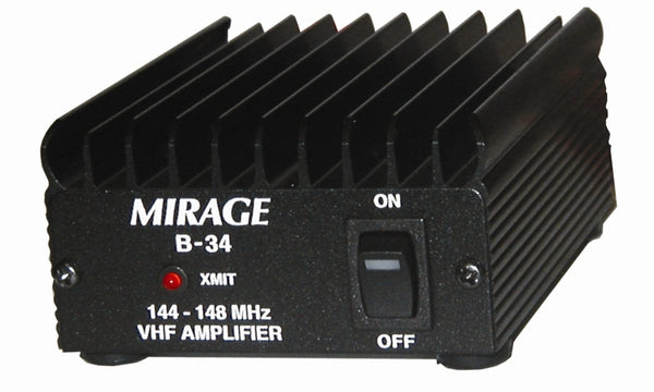 B-34, 2-M VHF AMP, 2W-IN/35W-OUT, FM