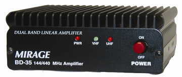BD-35, DUAL BAND 144/440 HT AMP, 45/35W OUT