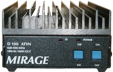 D-100-ATVN, UHF AMP,2W IN-100W OUT,420-450 MHz