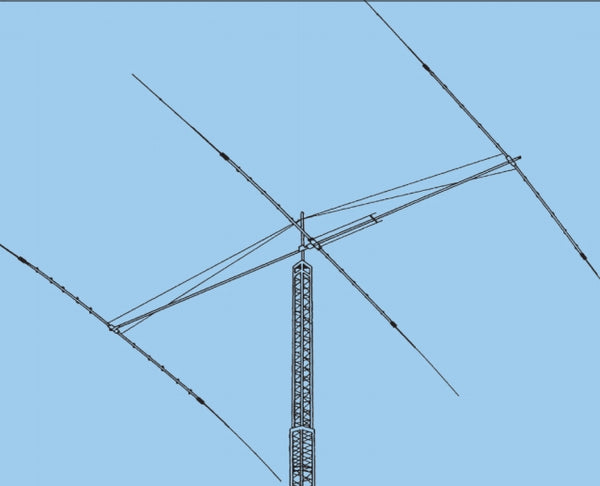 DIS-72, HF BEAM, DISCOVERER 40M, 2 ELEMENTS, 2 BOXES