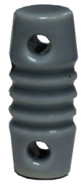 E-2, CERAMIC INSULATOR, GLAZED