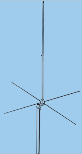 GPG-1B, 1/4 WAVE GROUND PLANE, 144-168 MHz, SO-239