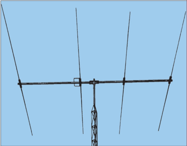 LJ-204BA, BEAM, MONOBANDER, 17 OR 20 M, 4 ELEMENTS, 2 BOXES