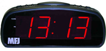 MFJ-113, LED CLOCK, 1.8~, 24/12 HR, 110 VAC, BAT.BACK-UP