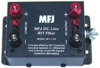 MFJ-1142, DC LINE RFI FILTER OUTLETS