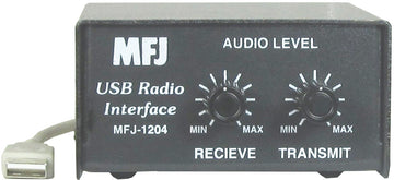 MFJ-1204J11, USB TO RIG SOUND CARD INT, W/RJ11, MIC CABLE