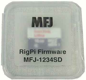 MFJ-1234SD, RIGPI SD CARD W/ OS FIRMWARE FOR MFJ-1234