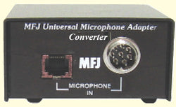 MFJ-1251, UNIVERSAL MIC CONVERSION BOX