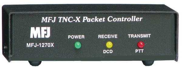 MFJ-1270X, TNC-X, KISS MODE PACKET CONTROLLER