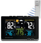 MFJ-154RC, COLOR WEATHER STATION,IN/OUT TEMP/HUM,ATOMIC