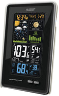 MFJ-156RC, COLOR WEATHER STATION,IN/OUT TEMP/HUM,ATOMIC