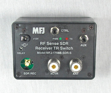 MFJ-1708B-SDRS, SDR RF SENSING T/R SWITCH WITH SMA FEMALE