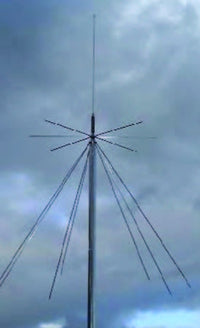 MFJ-1868, VHF DISCONE ANT, 25-1300 MHz, SO-239