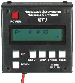 MFJ-1928, AUTOMATIC SCREW DRIVER ANT CONTROLLER,160-6M,LCD