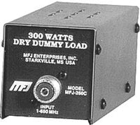 MFJ-260CN, DUMMY LOAD, 300 WATT,0-650MHz, DRY N-CONNECT