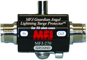 MFJ-270, LIGHTNING PROTECTOR, SO-239/SO-239, 400W PEP