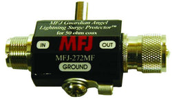 MFJ-272MF, LIGHTNING PROTECTOR, SO-239/PL-259, 1500W PEP
