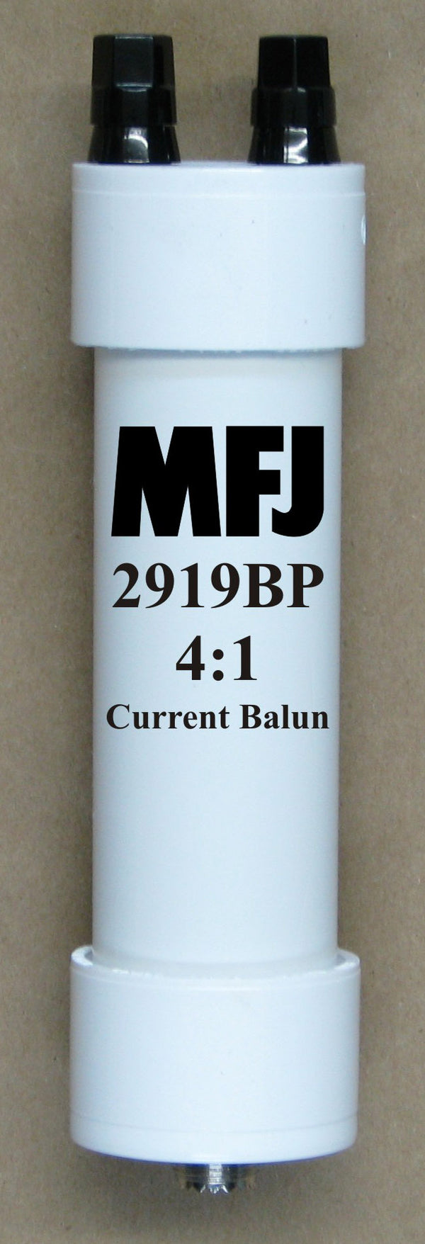 MFJ-2919BP, BALUN, BEAD, 4:1 1.8-30MHz, BINDING POST