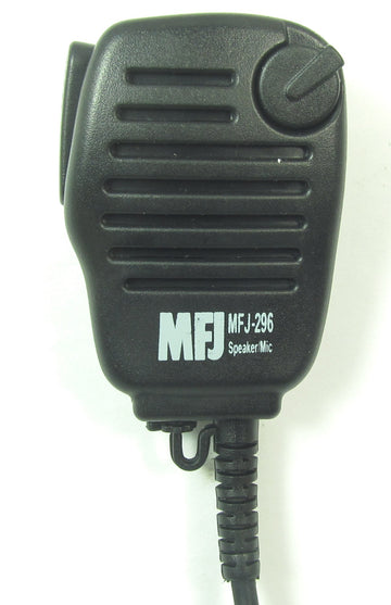 MFJ-296I, SPEAKER/MIC WITH VOL, ICOM/YAESU