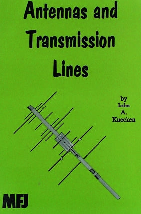 MFJ-3305, BOOK, ANTENNAS , TRANSMISSION LINES