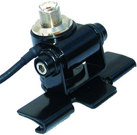 MFJ-345S, LIP ANTENNA MOUNT, SO-239(M), WITH CABLE