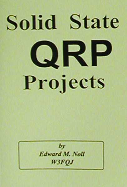 MFJ-3502, BOOK, SOLID STATE QRP PROJECTS
