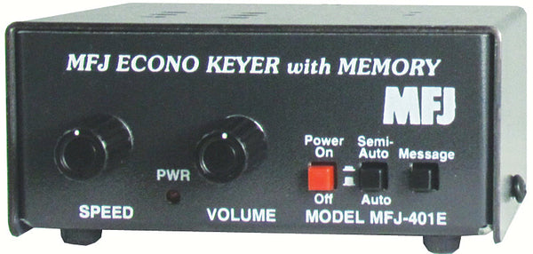 MFJ-401E, KEYER, ECONO KEYER II WITH MEMORY