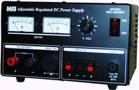 MFJ-4035MV, POWER SUPPLY, 35 AMPS, MTR, 13.8 VDC, ADJ.