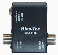 MFJ-4116, BIAS TEE DC POWER INJECTOR, HF, 1-50 VDC, 1A