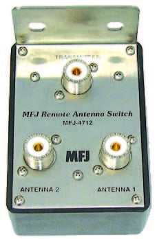 MFJ-4712, REMOTE ANTENNA SWITCH, 2 POSITIONS