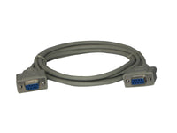 MFJ-5408, CABLE, SERIAL, DB9F TO DB9F, 6 FEET, 620-9003