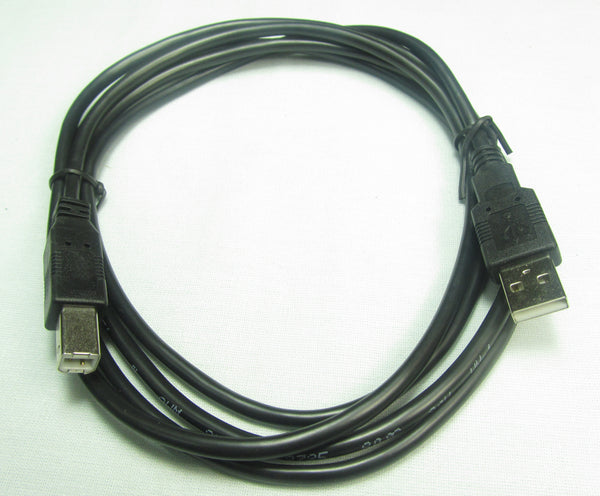 MFJ-5430, CABLE, USB A/USB B, 6FT, BLACK, 620-8803