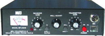 MFJ-624E, PHONE PATCH, WITH VU METER, 8P RD/MOD.