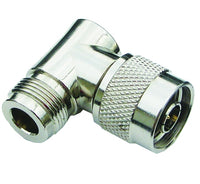 MFJ-7745, ADAPTER, N-MALE TO N-FEMALE,RIGHT ANGLE(610-2445)