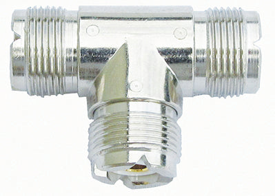MFJ-7754, CONNECTOR, SO-239, TRIPLE T ADPT,(610-2450)103109