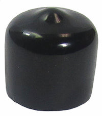MFJ-7758P, 60-PACK, N/SO-239 PROTECTIVE CAP, VINYL, BLACK