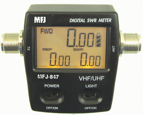 MFJ-847, WATTMETER, DIGITAL, 125-525 MHz, 120 WATT