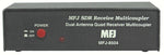 MFJ-8504B, SDR RECEIVER MULTI-COUPLER,BNC F, NO NOISE BLANKER