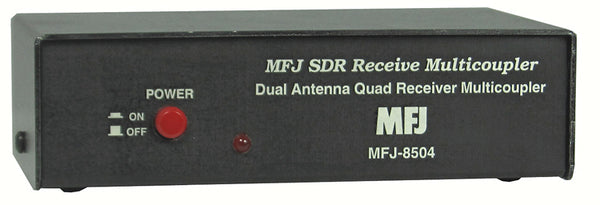 MFJ-8504S, SDR RECEIVER MULTI-COUPLER,SMA F,NO NOISE BLANKER
