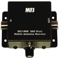 MFJ-908, MOBILE IMP. MATCHER, INDUCTIVE TYPE, 10-80M, 200W