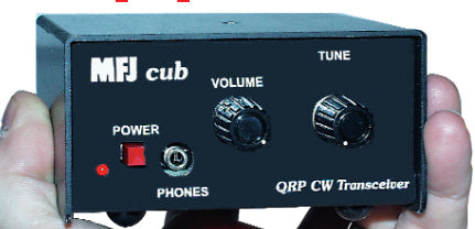 MFJ-9317W, QRP CUB TRANSCEIVER, 17 METERS, WIRED