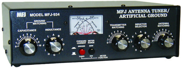 MFJ-934, ANTENNA TUNER/ARTIFICAL GROUND, HF