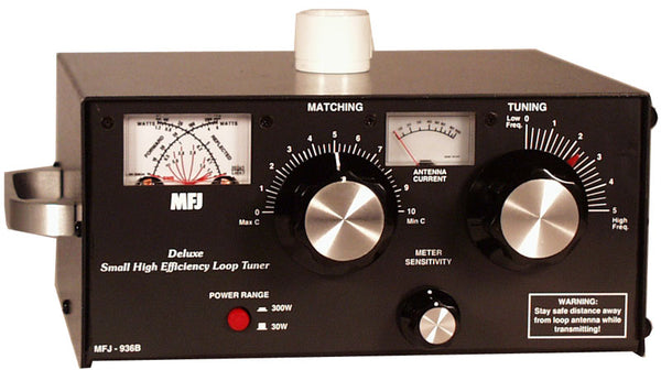 MFJ-936B, LOOP TUNER, 5.3-30MHz, 150W, W/CURRENT/SWR WATT