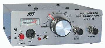 MFJ-9415X, TRANSCEIVER, SSB 15 METER WITH MICROPHONE