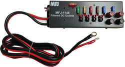 MFJ-1146, DC Filtered Power Strip, 40A, 13.8VDC