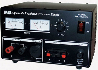 SEC-4035MV, POWER SUPPLY, 35 AMPS, MTR, 13.8 VDC, ADJ.