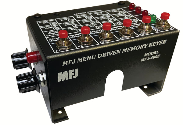 Front of the MFJ-490EX Keyer