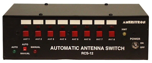 RCS-12C, AUTOMATIC ANT. SWITCH CONTROLLER
