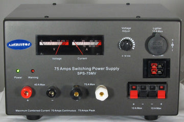 SPS-75MV, IT, SWITCHING PS, 75A, MTR,ADJ. 13.8VDC,110-220VAC